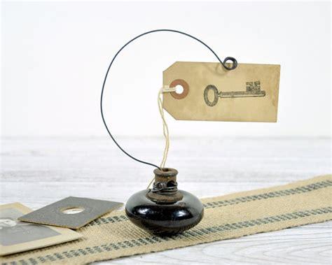Door Knob Holder by Vintage Door Knob Photo Holder Wire Picture Or By