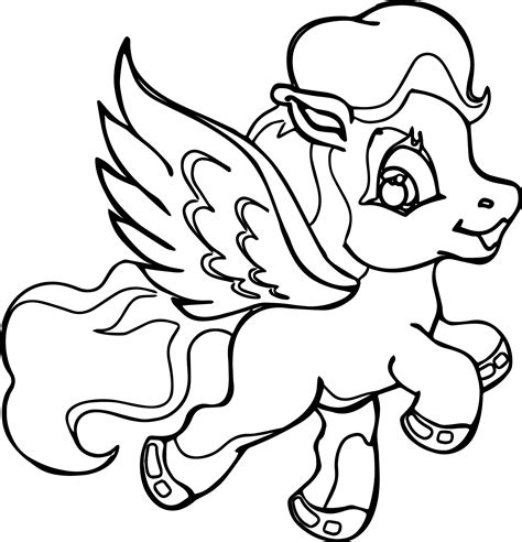 flying pony coloring pages flying my little pony coloring page wecoloringpage