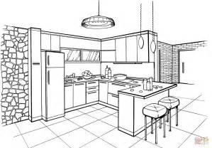 coloring page kitchen coloring pages kitchen coloring page utensils
