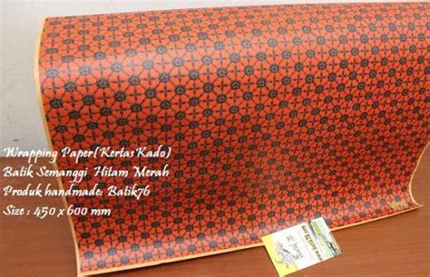 Packing Cookies Bungkus Lucu Kartun Hadiah Ulang Tahun Anak wrapping paper kertas kado motif batik semanggi hitam merah 1pack 20pcs kartu ucapan batik