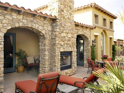 backyard fire chimney outdoor fireplace design ideas hgtv