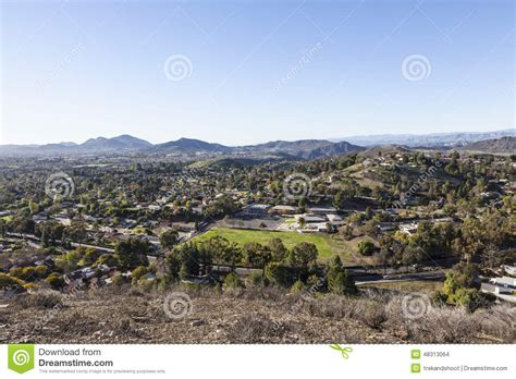 Mba Programs Near Ventura County Ca by Thousand Oaks In Ventura County California Stock Photo