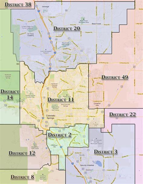 colorado district map school district map colorado springs my