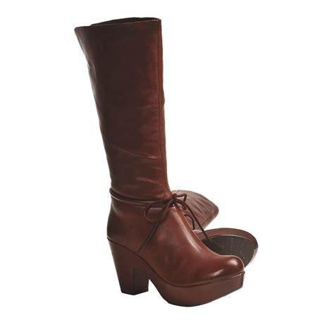 platform boots kork ease romy platform boots leather for save 65