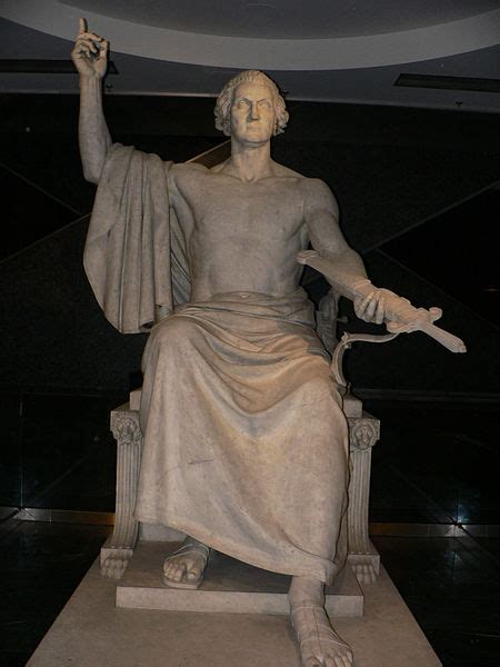 george washington as zeus no longer for display in the u s capitol george