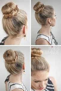 62 hair cut national hair romance 30 buns in 30 days day 11 the donut bun