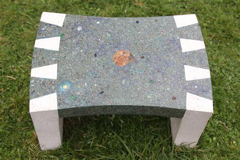custom concrete benches custom made concrete dovetail garden bench by soul focus stone custommade com