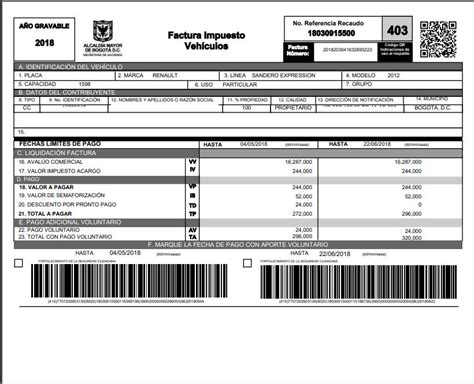 para pagar impuesto del carro bucaramanga de pago segn la impuesto de veh 237 culos d 243 nde pagar el impuesto de