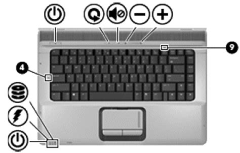 hp notebook pcs troubleshooting no led lights glow