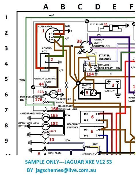 jaguar e type series 3 wiring diagram 37 wiring diagram