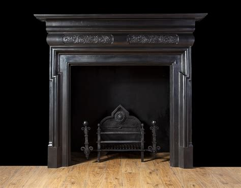 20th Century Fireplaces by Antique Cast Iron Fireplace Ci158 19th Century 20th