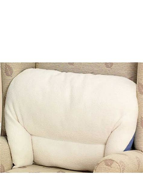 back support cushions for armchairs fleece back rest lumber support aid armchair cushion chums