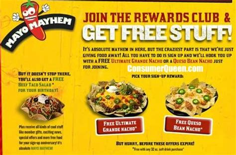 printable restaurant coupons okc free food from taco mayo consumerqueen com oklahoma s