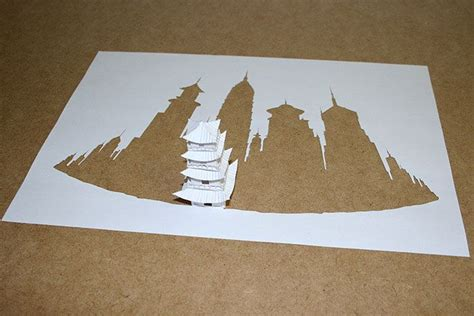 Paper Cutting And Folding - cut and fold paper by callesen gallery