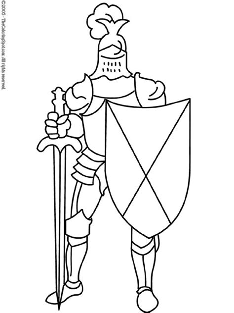 free coloring pages of knights armor in my dreams i could blow this up trace it and paint it