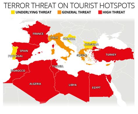 the terrorist threat in africa before and after benghazi books morocco terror warning officials raise threat level to