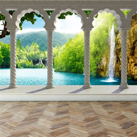 Komar Photo Wall 4522 Forest Photo Murals Wallpaper Wallart forest wall mural ebay forest wall murals wallpaper