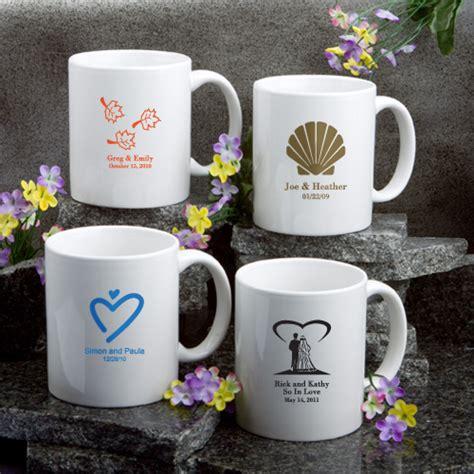 Wedding Favors Coffee Mugs by 48 Personalized Coffee Mug Wedding Bridal Shower Favors