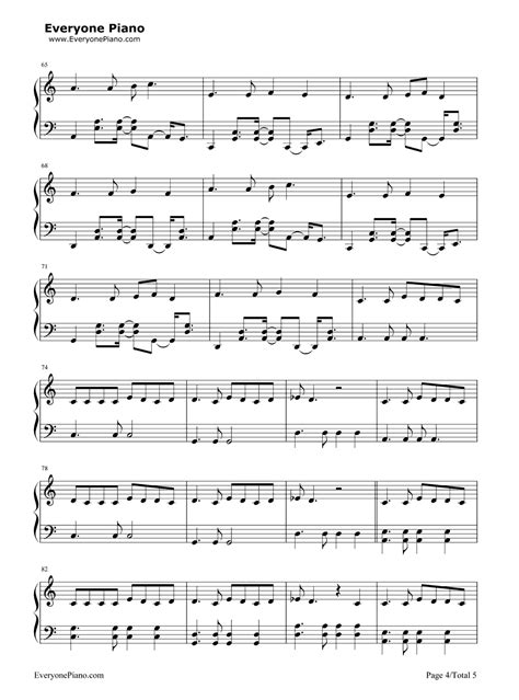 tutorial piano prayer in c prayer in c lilly wood and the prick五线谱预览 eop在线乐谱架