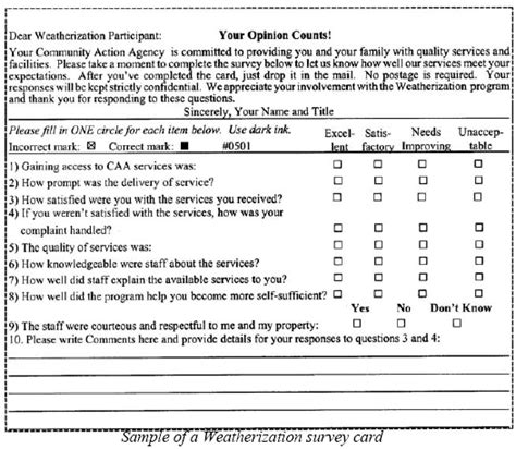 Participant Survey System Participant Satisfaction Survey Template