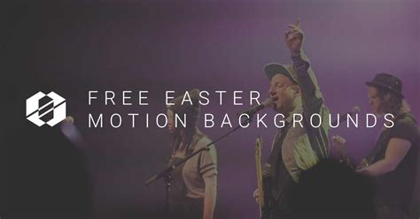Free Easter Motion Backgrounds Roundup From Church Media Free Easter Motion Backgrounds