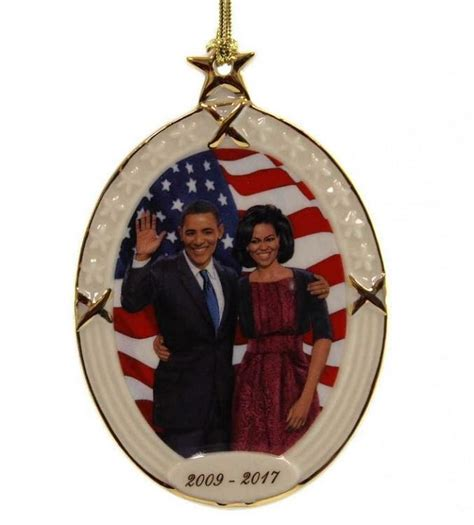 obama legacy commemorative christmas ornament by thomas