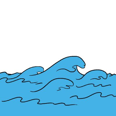 how do you draw waves 670px draw a how to draw waves really easy drawing tutorial