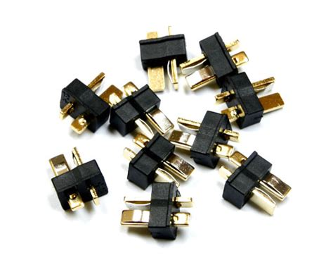 New T Connector Dean Style 1 Pairs mini 2 pin dean style t connector 10pcs