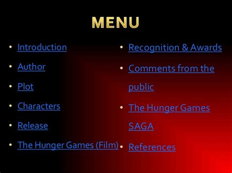hunger games themes ppt the hunger games