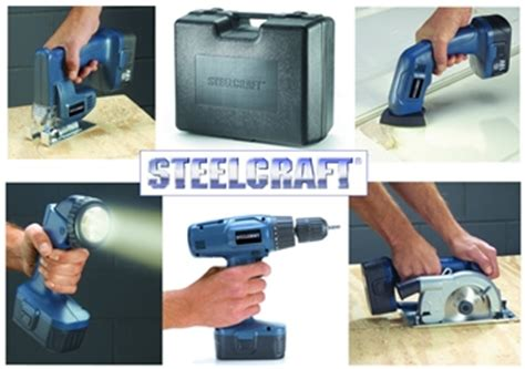 steelcraft tools steelcraft 174 5 in 1 cordless tool set