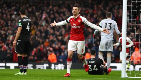 arsenal crystal palace arsenal vs crystal palace quot gunners quot derrotaron 4 0 por la