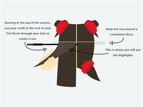 how to section hair a step by step guide to getting that instagram hair colour