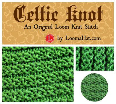 knit and purl on a loom celtic knot loom knit stitch pattern by loomahat on deviantart