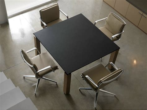 Square Meeting Table Regal Square Meeting Table Regal Collection By Quinti Sedute