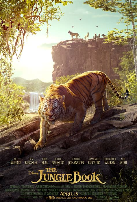 the jungle book pictures the jungle book poster gives shere khan his up