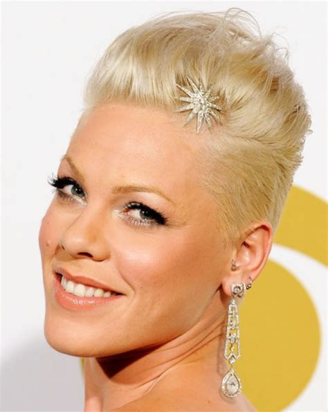faux hawk good for round faces 38 cute short hairstyles haircuts for round faces how
