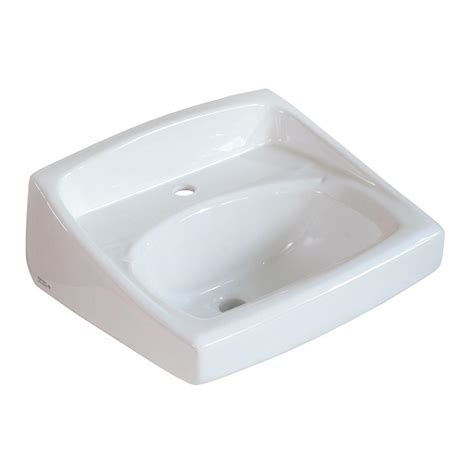 american standard lucerne wall mounted bathroom sink for