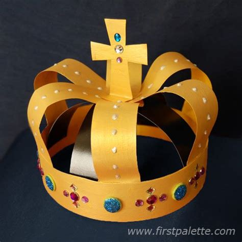 christian craft gold triquetrum gold crown craft crafts