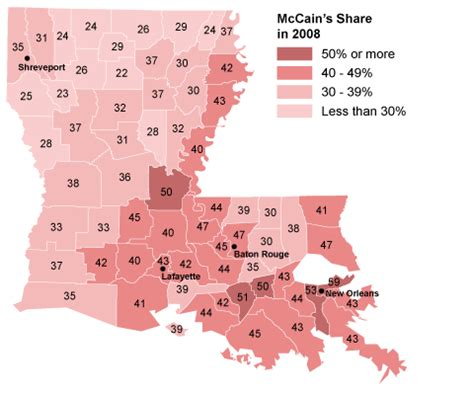 louisiana map geography political geography louisiana the new york times