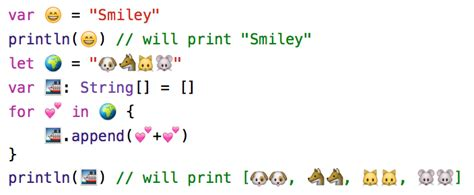emoji xcode emoji unicode support swift cheat sheet