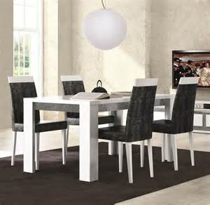 Black And White Dining Room Sets by Furniture Black And White Dining Room Chairs Marceladick