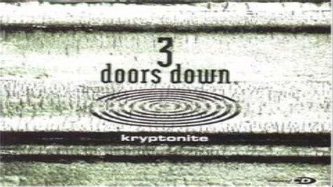 3 Doors Kryptonite Album by 3 Doors Kryptonite