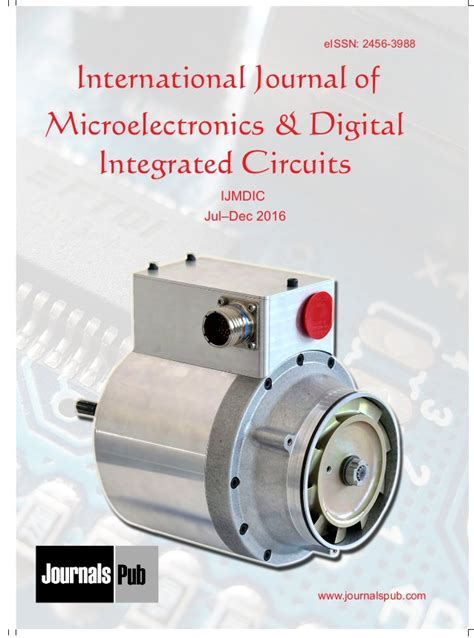 integrated circuit journals international journal of microelectronics and digital integrated circ