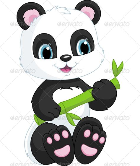 gambar animasi panda lucu  wallpaper gambar