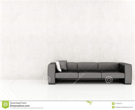face couch couch to face a blank wall royalty free stock images