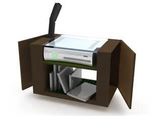 Video Game Storage Unit Xbox 360 Storage Unit By Sam Wilkinson At Coroflot Com