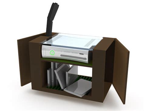 design ideas computer game equipment storage units xbox 360 storage unit by sam wilkinson at coroflot com