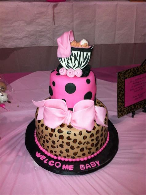 Leopard And Pink Baby Shower Decorations by 17 Best Ideas About Leopard Baby Showers On Baby Showers Baby Showers And
