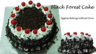 black forest cake recipe without oven cooker cake