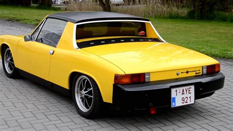 porsche 914 yellow porsche 914 2 0 vandenberghe classics roadtour youtube